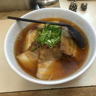 醤油チャーシュー麺(新京 (シンキョウ))