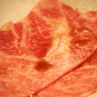 極肉 クラシタのすき焼き(うしごろ 貫 五反田店 )