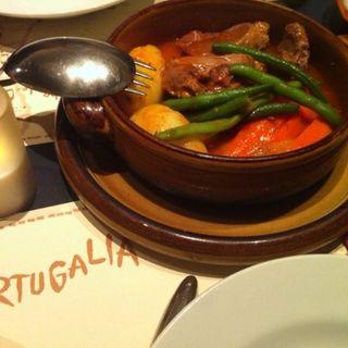 ほほ肉のシチュー(ポルトガリア)