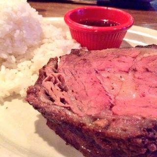 プライムリブステーキ ミディアム(LONESTAR steake house)