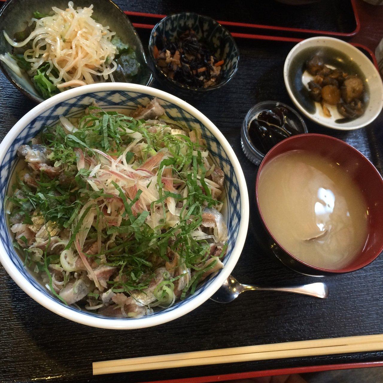 梅雨イワシタタキ丼(鰾(うきぶ...