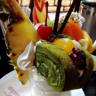 選べるケーキパフェ(カフェドムッシュ 姫路店 )
