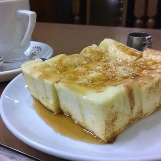 フレンチトースト(アラビヤコーヒー)