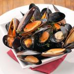 ムール貝と野菜の白ワイン蒸し