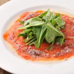 鮮魚と野菜のカルパッチョ bERGAMO スタイル