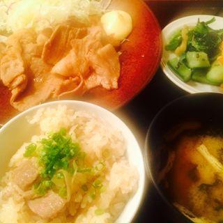 和風豚肉の生姜焼き(寅福 青山本店 (トラフク))