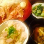 和風豚肉の生姜焼き