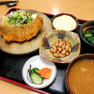 タラフライ定食(宗村食堂)