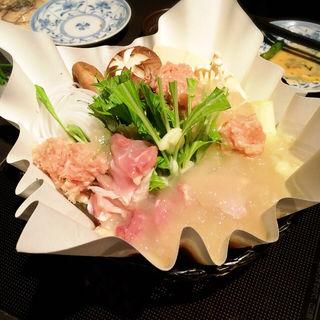 美人コラーゲン軍鶏鍋(卯夢)