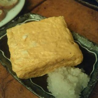 地鶏卵だし巻き玉子(巌 渋谷)