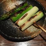 炭火野菜焼き アスパラ