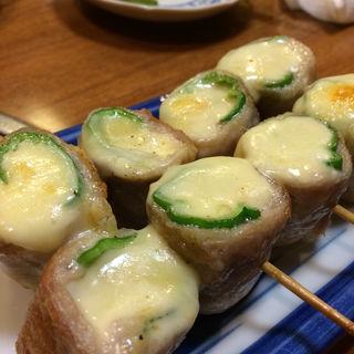 チーズ巻 2本(宵・酔・亭 煖 (よいよいてい だん))