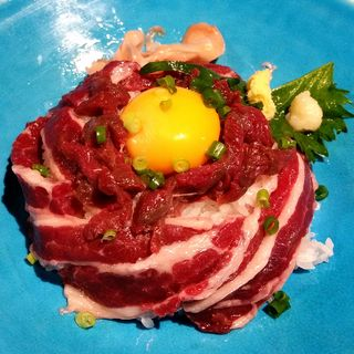馬肉丼(馬菜 銀座本店 (バサイ))