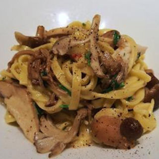 タリアテッレ ポルチーニと色々茸のクリームソース(カッフェ・クラシカ (Caffe Classica))