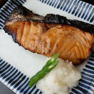 サーモンの味噌漬け焼き(酢重ダイニング 六角 東京ミッドタウン店 (ロッカク))