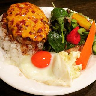 ロコモコチーズプレート(洋食ラフラフ)