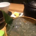 葛きり(茶庭 然花抄院 渋谷ヒカリエ ShinQs店 (ぜんかしょういん))