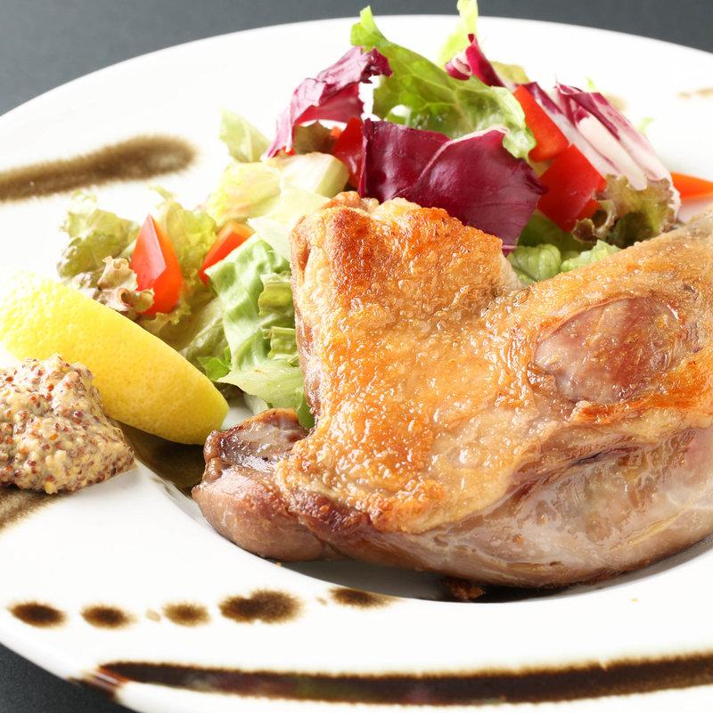 若鶏のグリル 季節の野菜添え(THE BEEF CLUB NISHIAZABU)