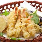 天ぷら6種盛り合わせ