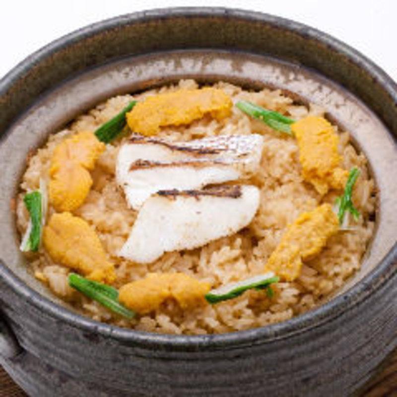鯛とウニの土鍋ご飯(凛火 新宿店 )