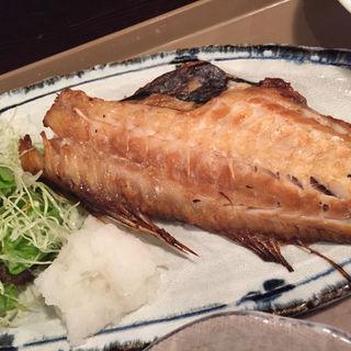 赤魚しょうゆ漬け焼き定食(茶屋 壱)