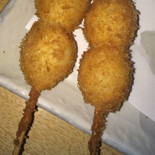 うずら卵串揚げ(マンヨシ )