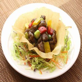 牛肉のポラックペッパー炒め(谷泰豊 (グタイフォン))