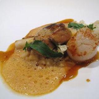 魚介を使ったスープドポアソン(ete)