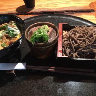 ミニザルセット(玉子丼)(蓮生 )