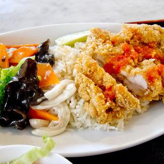 鶏排飯(シンガポール海南鶏飯 赤坂店 (ハイナンチーファン))