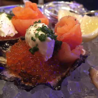 生牡蠣(Fish House Oyster Bar 恵比寿東口店)