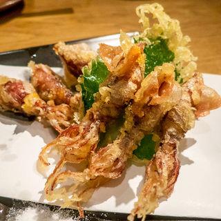 ホタルイカの天ぷら(板前寿司 六本木店 )
