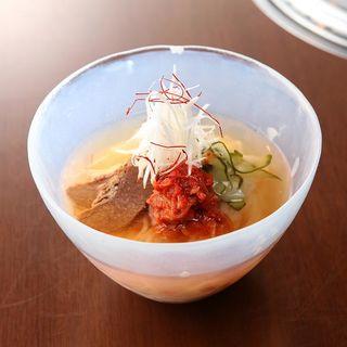 塩冷麺(べこ亭 自由が丘店)