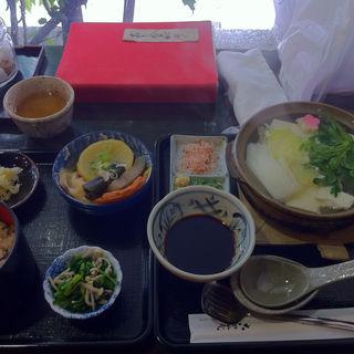 湯豆腐定食(古の花 (いっぷく処 古の花))