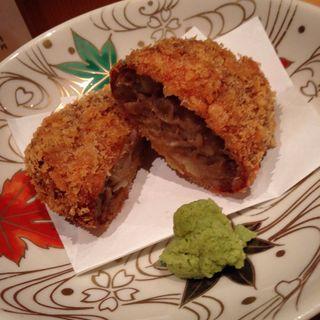 牛タンコロッケ(金舌 赤坂 (きんたん))
