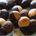 バニラとチョコのクッキー