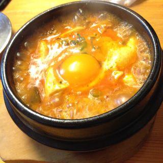 スン豆腐チゲ(オムニマッ 母の味 )