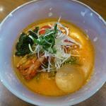 韓国風味噌冷麺