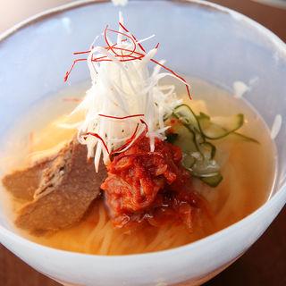 醤油冷麺(べこ亭 自由が丘店)