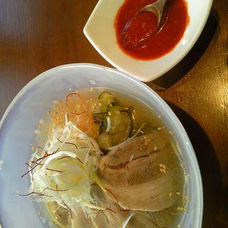 蒸し豚冷麺(べこ亭 自由が丘店)