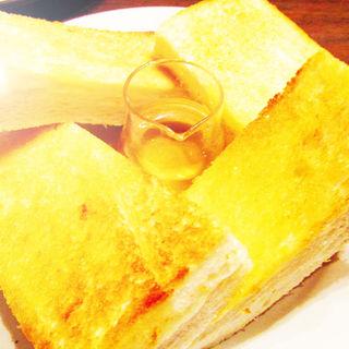 ハチミツトースト(喫茶YOU)