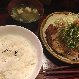 ポンズおろし定食S(喝鈍 法善寺横町店 (かつどん))