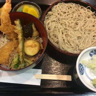 ミニ天丼セット(有喜屋 京都桂川店 (ウキヤ))