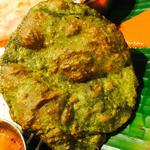 プーリー 緑(ダバインディア (Dhaba India))