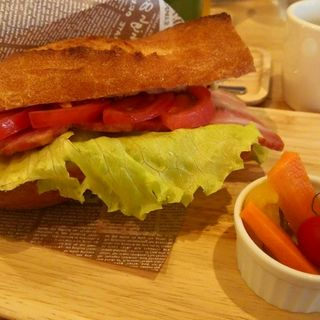 BLTサンド(T-PARK CAFE)