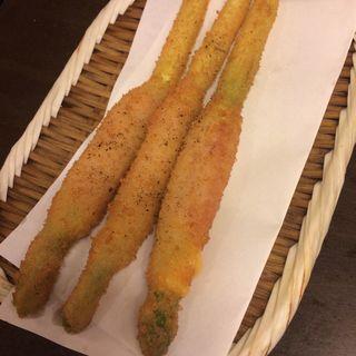アスパラベーコン串(串八 新堀川店 (くしはち))