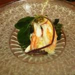 毛蟹 酢のもの(出汁しゃぶ 京)