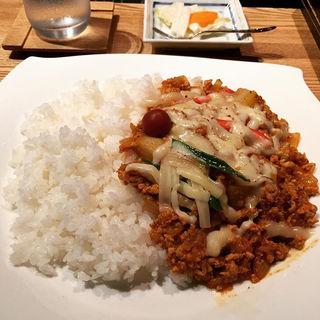 キーマカレー(辛)チーズ(スパイスチャンバー (SPICE CHAMBER))