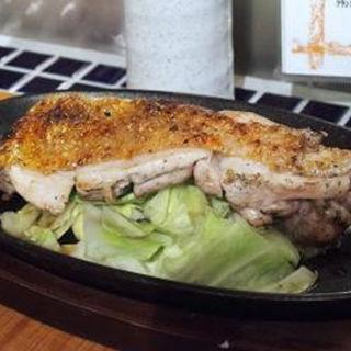 州安曇野 朝いち鶏 ジューシーもも肉の炭ろばた焼き(co coroco)