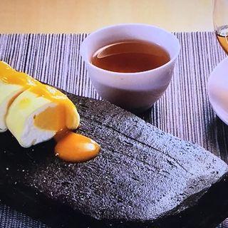 マンゴークレープ&ライチ紅茶(中國菜 心香 )